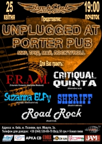 Unplugged At Porter Pub