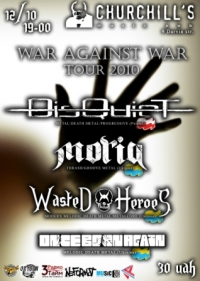WAR AGAINST WAR TOUR 2010