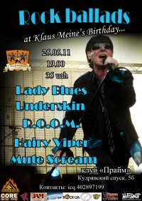 Rock Ballads at Klaus Meine's Birthday