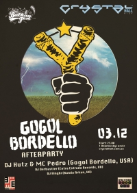 DJ Hutz & MC Pedro (GOGOL BORDELLO): afterparty