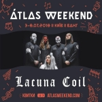 Итальянцы Lacuna Coil на Atlas Weekend 2018!