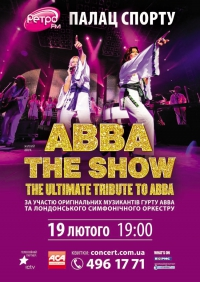 The ultimate tribute show to ABBA