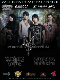 Morphine Suffering - WEEKEND METAL TOUR 2012